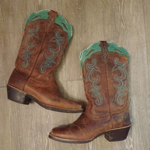 Justin Cowboy boots size 7